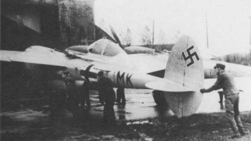 Captured P-38J
