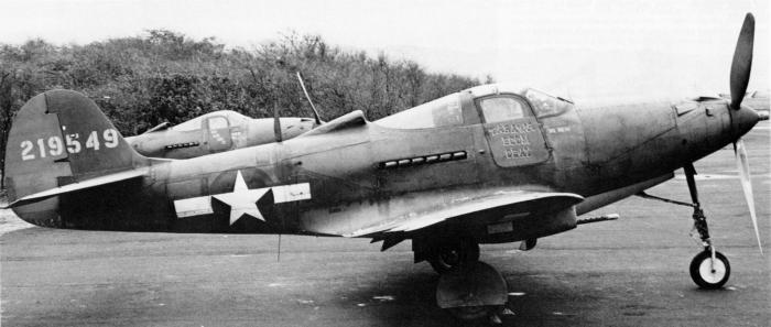 P-39Q of the USAAF 318th FG based on Oahu, Hawaii, 1944